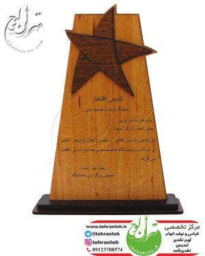 تندیس چوبی برای شرکت سونی