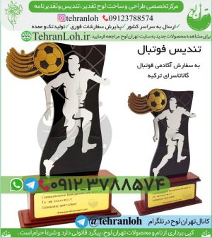 T03-ساخت تندیس ورزشی فوتبالی