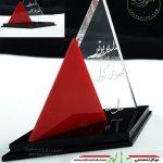 تندیس پلکسی گلاس برای مدیر برتر شهرستان کرمان