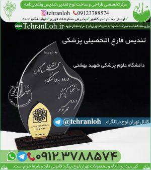 تندیس دانشگاه علوم پزشکی شهید بهشتی