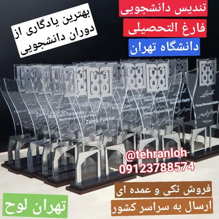 تندیس دانشجوی دانشگاه تهران